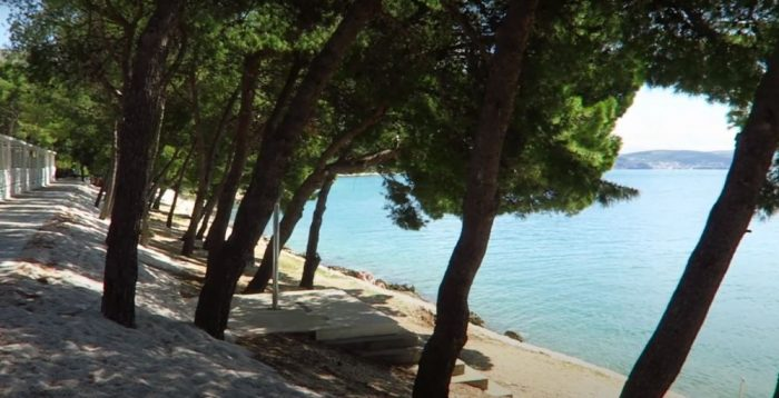 belvedere beach trogir