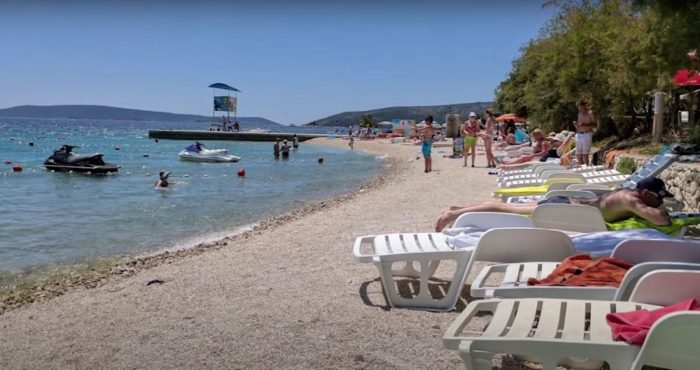 medena beach croatia