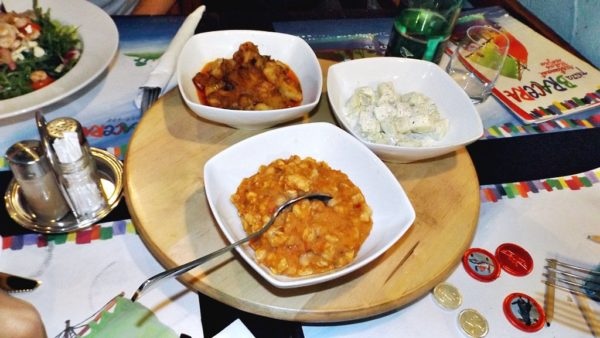 Croatia restaurant side dishes