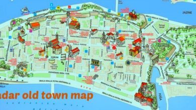 Photo of Map Of Zadar
