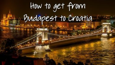 Photo of How to Get from Budapest to Croatia (Dubrovnik etc) by Train or Bus