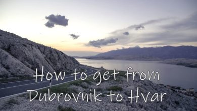Photo of How to Get from Dubrovnik to Hvar