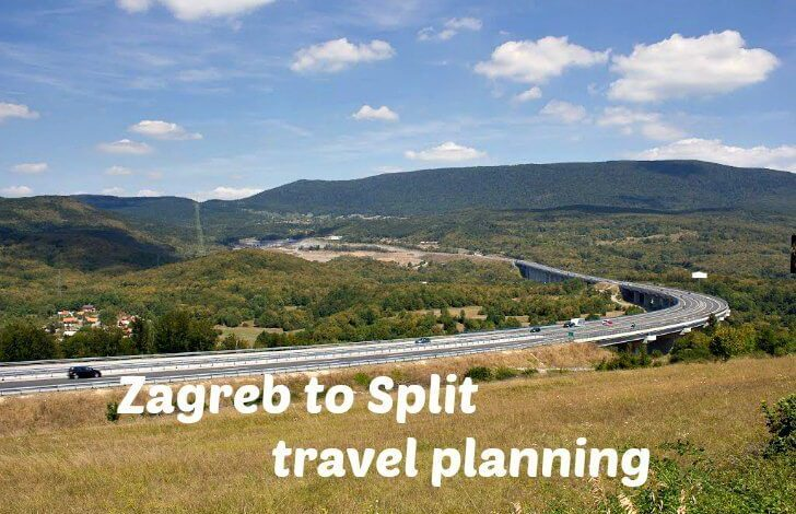 How To Get From Zagreb To Split And Split To Zagreb By Bus Plane Car Or Train Croatia Wise