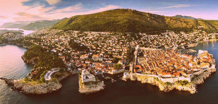 Tourist Map of Dubrovnik, Croatia   Croatia Wise on