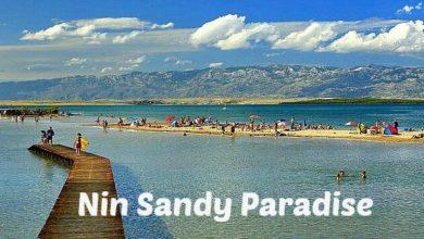 Photo of Enjoying Nin Lagoon Beach: a Sandy Paradise in Croatia