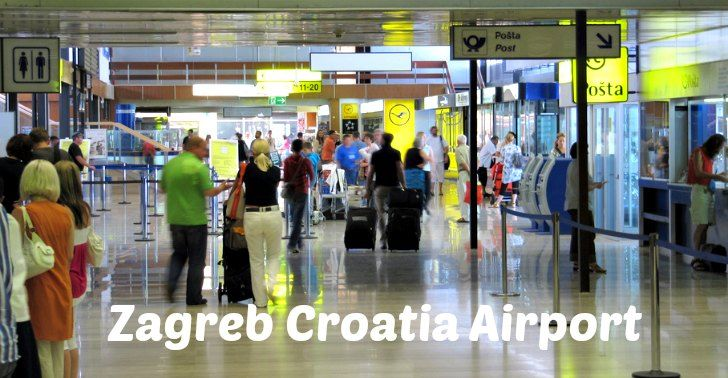 Zagreb Airport Guide Bus Transfer General Information Croatia Wise