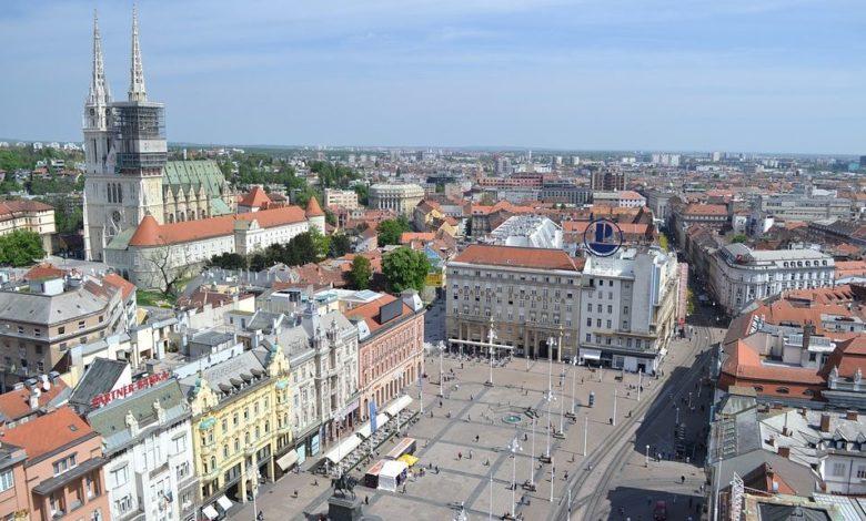 Zagreb Map To Easily Get Around Croatia S Capital Includes Tram