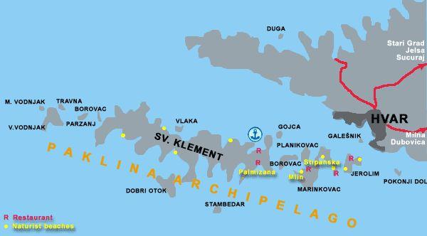 Paklina archipelago